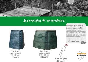 Modèles composteurs - SANS BOIS