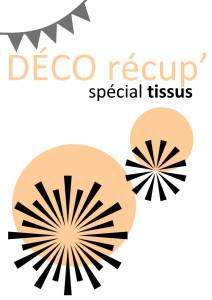 plaquette deco recup - special tissus